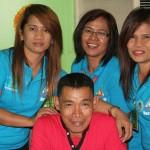 Treas. Parreñas and his staff