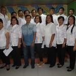 Capt. Abad and the 17 Lupon Tagapamayapa's