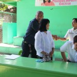 Capt. Abad shakes hands with Kgd. Miras.