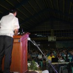 Capt. Abad solicits his constituents unity in overcoming the challenges in Batasan Hills.