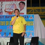 Kgd. Custodio expresses his support towards all projects of the Barangay Council.