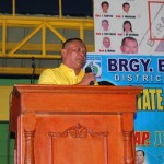 Kgd. Ludovica expresses his support towards all projects of the Barangay Council.