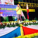 Kgd. Macario expresses his support towards all projects of the Barangay Council.