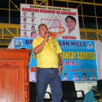 Kgd. Miras expresses his support towards all projects of the Barangay Council.