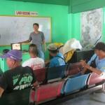 Purok Leader Dimzon facilitates training workshops at the Barangay Hall.