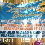 Summer Bonding ng Liga ng mga Purok Leaders and HOA Presidents (1)