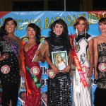 The finalists in the Search for Miss Gay Feeling Ganda 2015 with Kgds. Custodio and Macario
