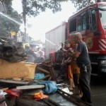 Batasan Hills Fire Brigade extinguishes on Congressional Road. (10)