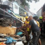 Batasan Hills Fire Brigade extinguishes on Congressional Road. (11)