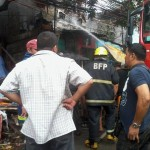 Batasan Hills Fire Brigade extinguishes on Congressional Road. (14)