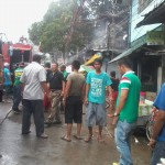 Batasan Hills Fire Brigade extinguishes on Congressional Road. (19)