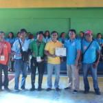 Capt. Abad recognizes the Batasan Hills Fire Brigade. (12)