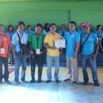 Capt. Abad recognizes the Batasan Hills Fire Brigade. (13)