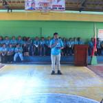 Capt. Abad recognizes the Batasan Hills Fire Brigade. (6)