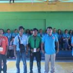 Capt. Abad recognizes the Batasan Hills Fire Brigade. (7)