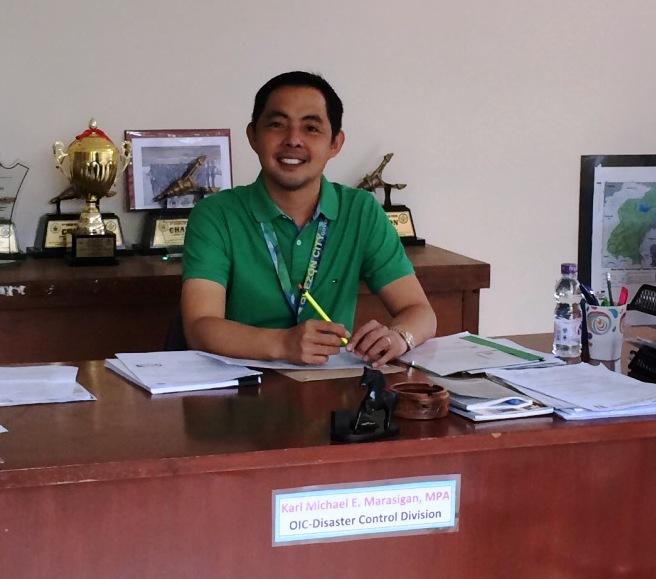 OIC Myke Marasigan