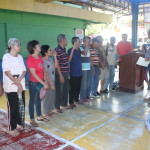 Samapaguita seniors take oath. (1)