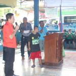 Samapaguita seniors take oath. (15)