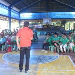 Samapaguita seniors take oath. (16)