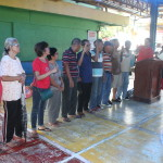 Samapaguita seniors take oath. (2)