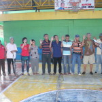 Samapaguita seniors take oath. (5)