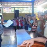Samapaguita seniors take oath. (8)