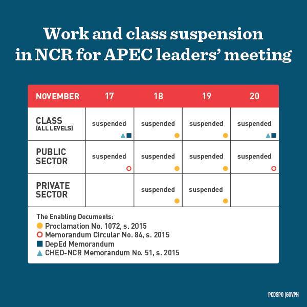 APEC-walang-pasok