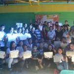 Call Center Training Graduation Rites (50)