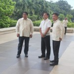 Capt. Abad witnesses unveiling of heritage tree marker in Congress. (1)