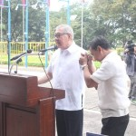 Capt. Abad witnesses unveiling of heritage tree marker in Congress. (100)
