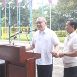 Capt. Abad witnesses unveiling of heritage tree marker in Congress. (101)