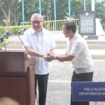Capt. Abad witnesses unveiling of heritage tree marker in Congress. (102)