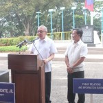 Capt. Abad witnesses unveiling of heritage tree marker in Congress. (105)