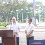 Capt. Abad witnesses unveiling of heritage tree marker in Congress. (107)