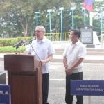 Capt. Abad witnesses unveiling of heritage tree marker in Congress. (108)