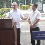 Capt. Abad witnesses unveiling of heritage tree marker in Congress. (110)