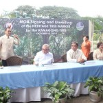 Capt. Abad witnesses unveiling of heritage tree marker in Congress. (114)