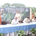 Capt. Abad witnesses unveiling of heritage tree marker in Congress. (115)