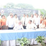 Capt. Abad witnesses unveiling of heritage tree marker in Congress. (117)