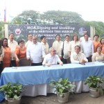 Capt. Abad witnesses unveiling of heritage tree marker in Congress. (118)