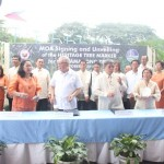 Capt. Abad witnesses unveiling of heritage tree marker in Congress. (122)