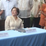 Capt. Abad witnesses unveiling of heritage tree marker in Congress. (127)