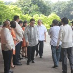 Capt. Abad witnesses unveiling of heritage tree marker in Congress. (28)