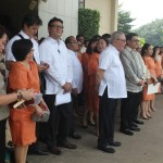 Capt. Abad witnesses unveiling of heritage tree marker in Congress. (48)