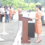 Capt. Abad witnesses unveiling of heritage tree marker in Congress. (81)