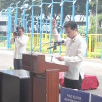 Capt. Abad witnesses unveiling of heritage tree marker in Congress. (82)