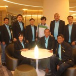 Council visit the Working Couple at Novotel. (10)