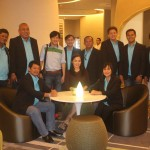 Council visit the Working Couple at Novotel. (27)