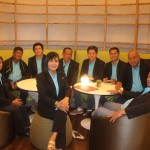 Council visit the Working Couple at Novotel. (6)