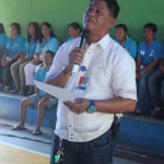 Taniman Action Disaster Shelter Federation takes oath. (1)